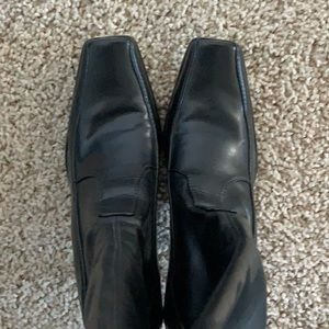 Franco Sarto black vegan boots